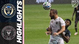 Philadelphia Union vs. Inter Miami CF | September 27, 2020 | MLS Highlights
