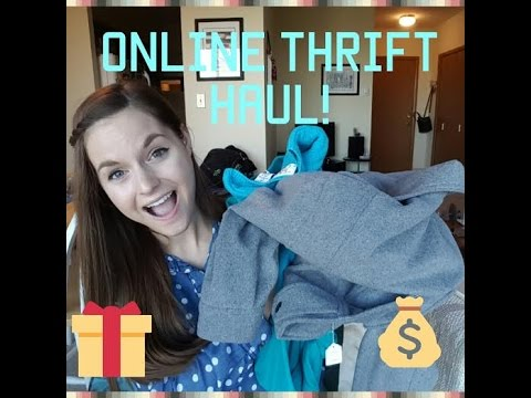 Online Thrifting Haul! | Ft. Thrifty Ninja Boutique + Giveaway!