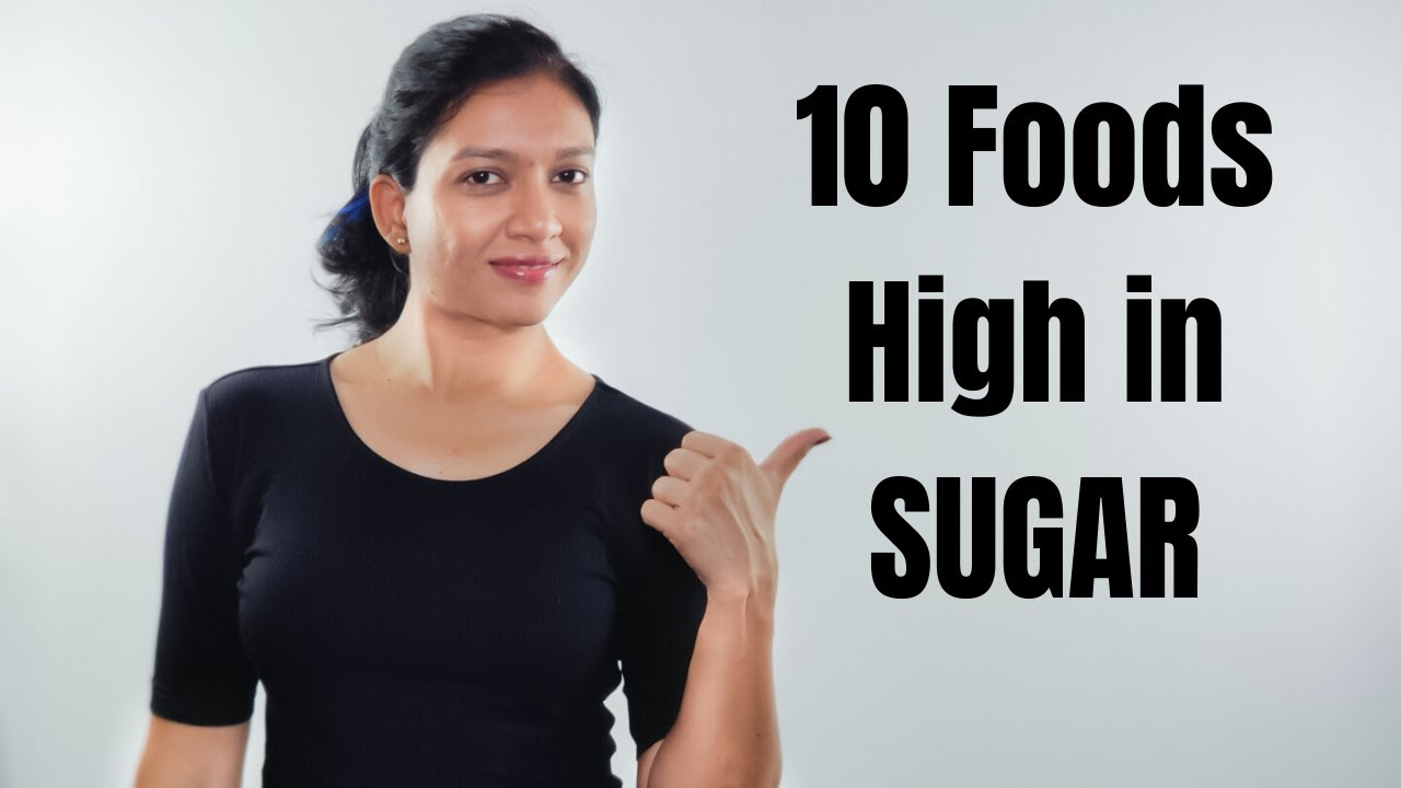 Top 10 Foods with Deadly Amounts of SUGAR! Avoid them!