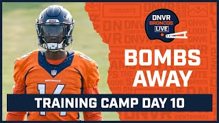 Drew Lock s bomb to Courtland Sutton leads him to win over Bridgewater in Broncos Camp Scrimmage