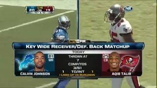 """Megatron"" Calvin Johnson vs Aqib Talib (2011) WR vs CB"