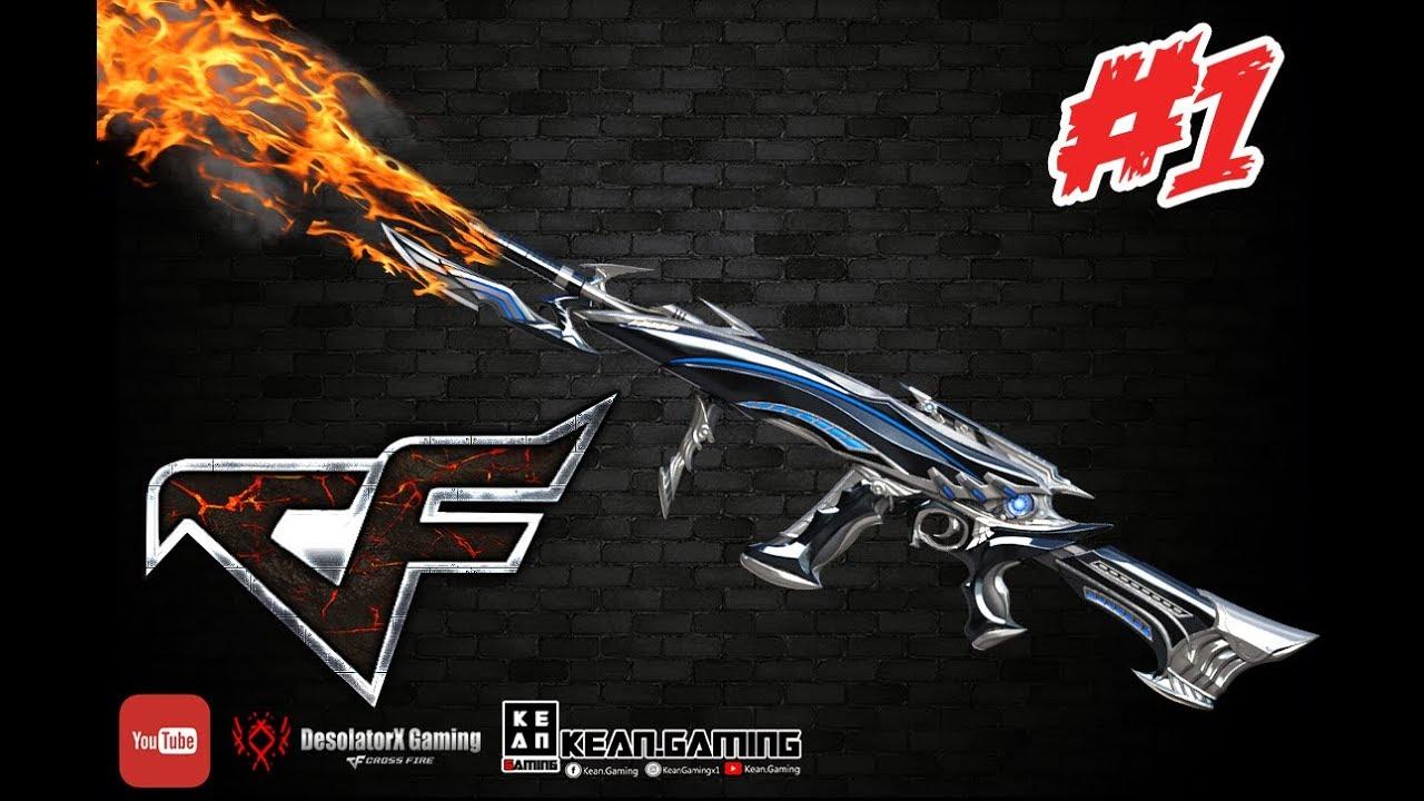 Crossfire PH - AK12-IRON SPIDER + FREE 30 SPIN Dragon Barrage Lotto (VIP)  GUN#1