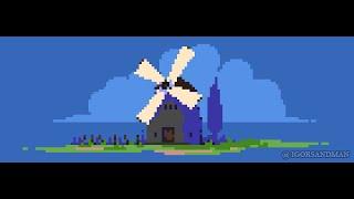 Pixel Art Demo : Windmill (267/365)