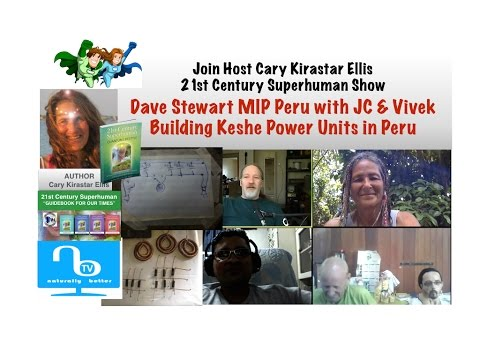 How Keshe Power Unit Works & Build Your Own - JC, Vivek & Dave Stewart MIP Peru