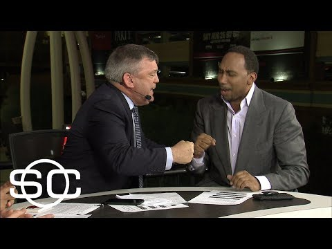 Stephen A. Smith and Teddy Atlas turn Mayweather analysis into 'food fight' | SportsCenter | ESPN