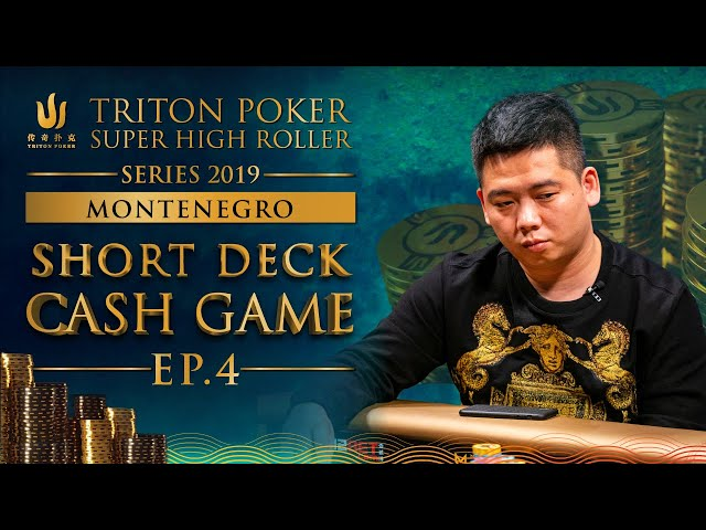 €300k Short Deck Cash Game Episode 4 - Triton Montenegro 2019