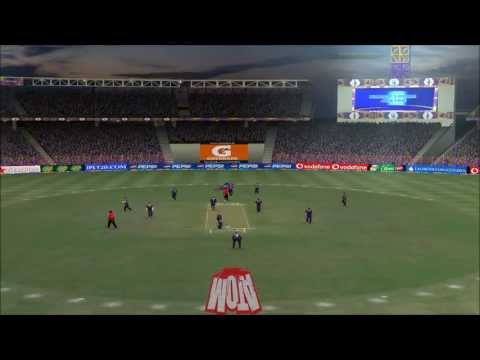 A2 Studios' Pepsi IPL 6 t20 Showtime patch 2013 for EA Sports Cricket 2007