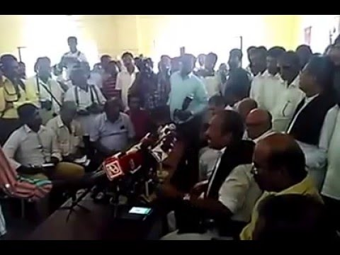 Vaiko interview to media at Coimbatore MDMK office on 18.03.2016