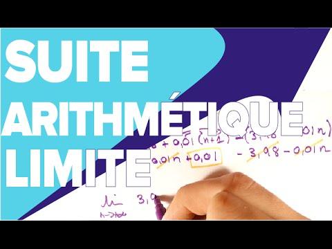 Limite d'une Suite Arithmétique - Mathrix