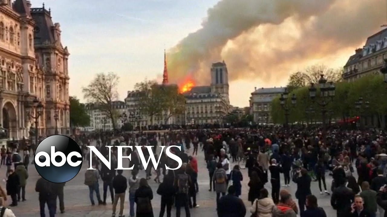 ABC News:Notre Dame Cathedral has first mass since fire two months ago