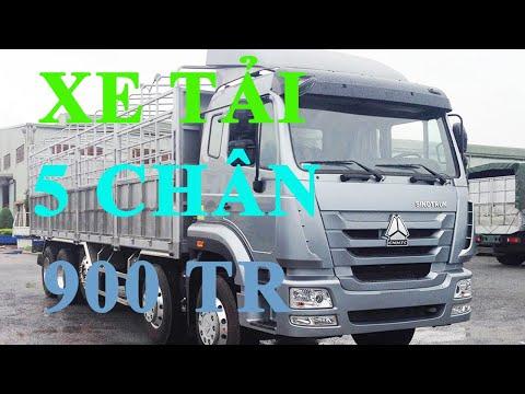 Đánh giá xe tải howo 5 chân 22 tấn   giá xe tải 22 tấn xe TMT ST336220T