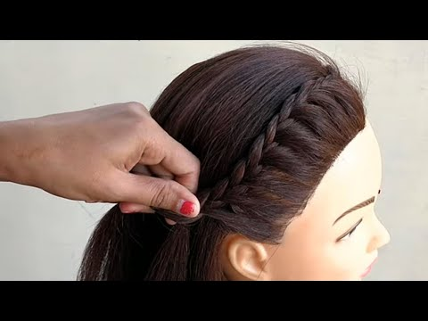 new-high-ponytail-hairstyle-for-school,-college,-work,-prom-|-long-ponytail-|-trending-hairstyles