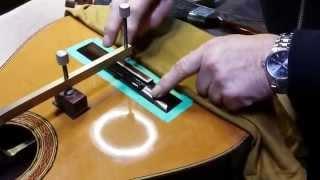 Sticking the Bridge - Howell Guitars