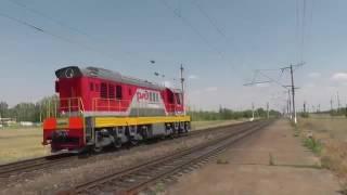 Поезда Волгограда и Волжского 2015 Trains of Volgograd and Volzhskiy 2015