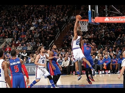 Derrick Williams Throws Down Two MONSTER Dunks
