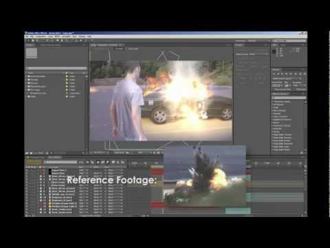 Creating a Car Explosion in After Effects through Compositing ('Arena' Behind the Scenes)