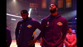 LeBron James and Anthony Davis Combine for 53 PTS In First Lakers Victory