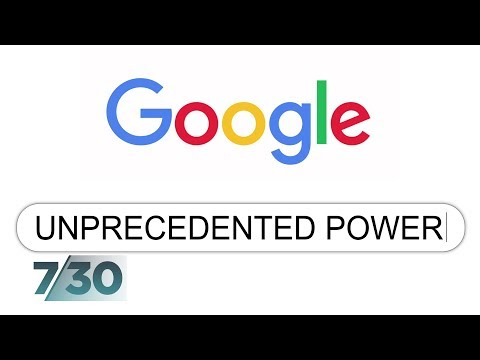 How extensive is Google's power? | 7.30