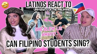"""Download Latinos react to """"Can FILIPINO STUDENTS Sing???""""   University of the Philippines  REACTION"""