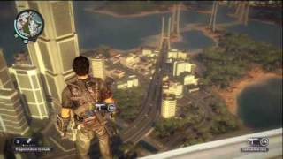 Just Cause 2 Xbox 360 Gameplay Exploring the Scenery Pt 2/2