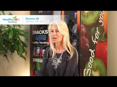 HealthyYOU Vending Reviews - Donna W.