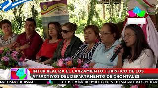 Intur realiza el lanzamiento turístico de los atractivos del departamento de Chontales