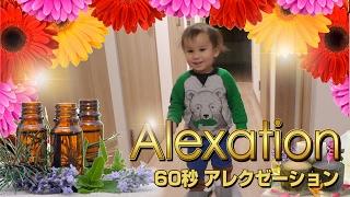60秒 アレくゼーション《子供英語でリラックス》Alexation // Relaxing with Alex