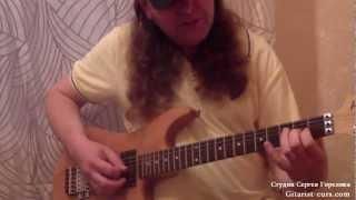 Уроки игры на электрогитаре. Видео урок.(Дистанционные уроки игры на гитаре по скайп http://gitarist-curs.com/ То что я предлагаю это дистанционное..., 2012-08-10T11:09:58.000Z)