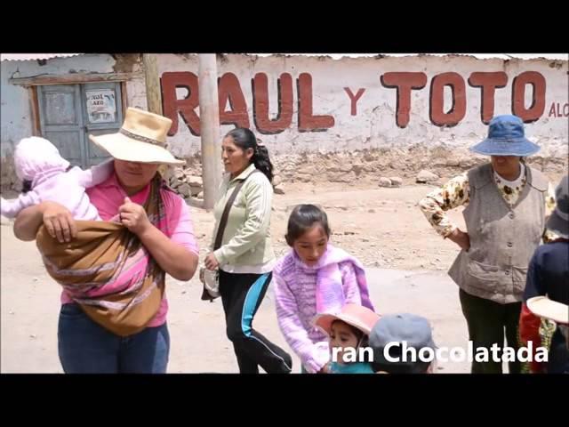 chocolatada en Pampacolca 2015