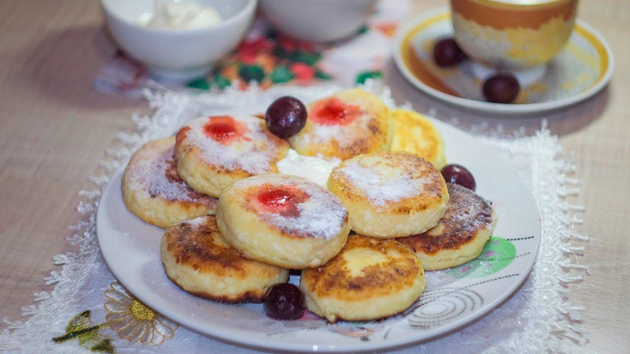 Рецепт сырников из творога классические на сковороде фото