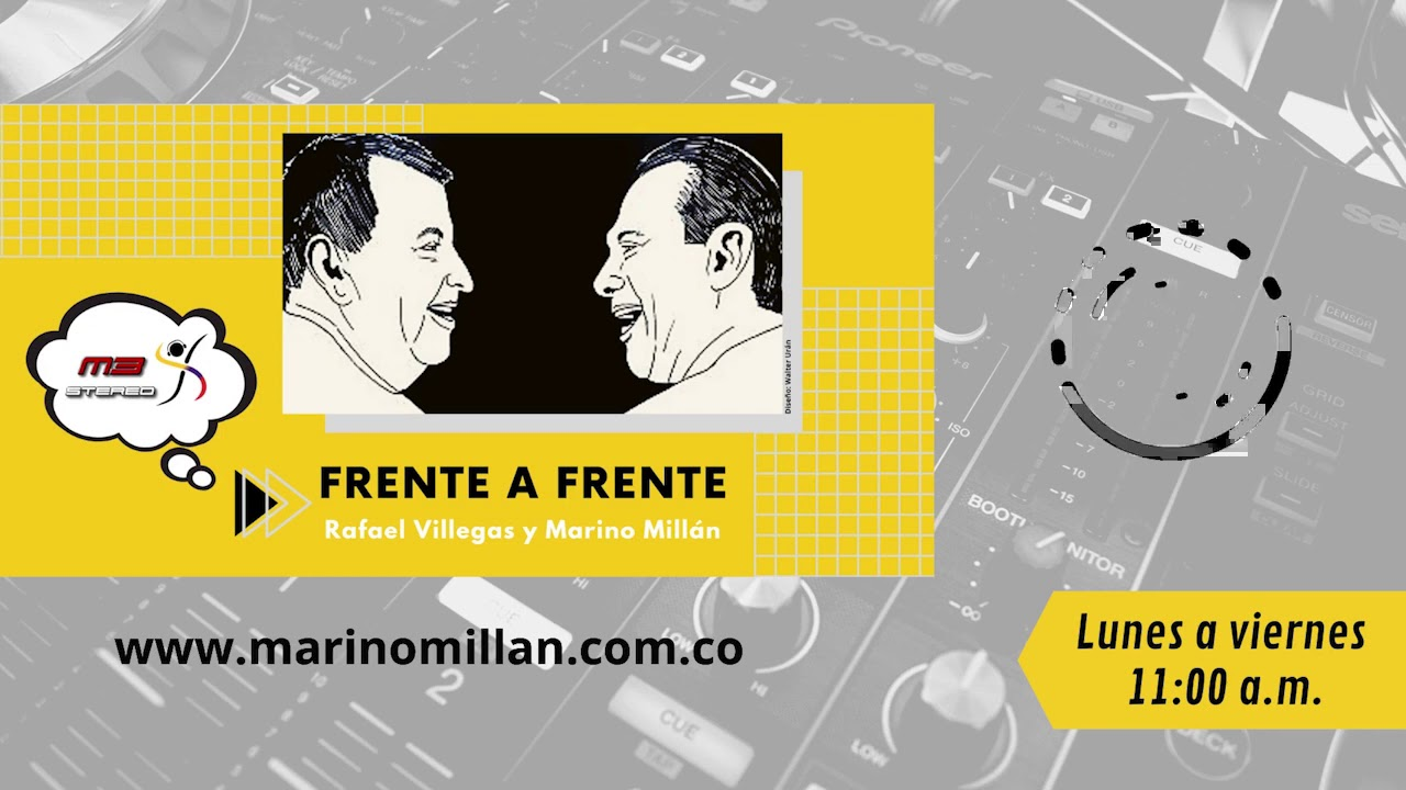 Frente a Frente - Rafael Villegas y Marino Millán - Septiembre 28 de 2020