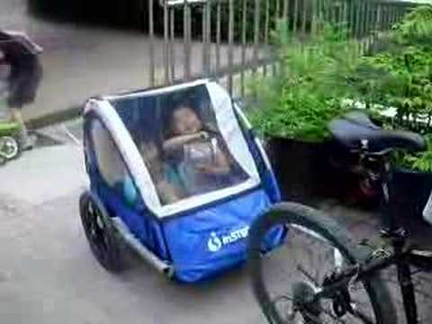 Bicycle Trailer For Children Youtube