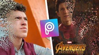 Efecto Desvanecer / Infinity War / En Android / No me quiero ir señor Stark