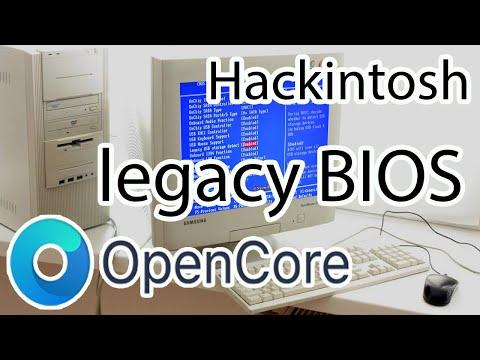 OpenCore и Legacy BIOS – Hackintosh. Создание флешки и установка. Core 2 DUO