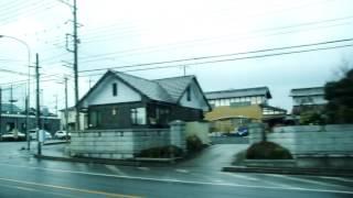 東野交通 雀宮駅→インタP→真岡駅西口線 長田町入口→おおはし整形外科付近