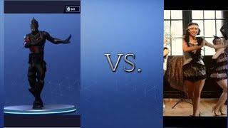 Fortnite Flapper Dance vs Real life