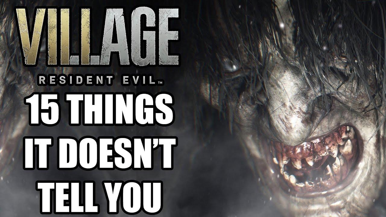 Resident Evil Village: Beginner's tips and tricks
