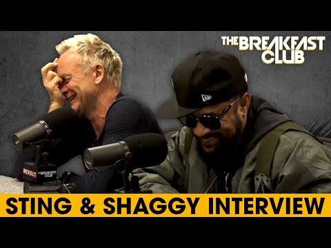 Sting & Shaggy Come Together For Reggae Music, Talk Lifestyle Changes, Old Hits + More