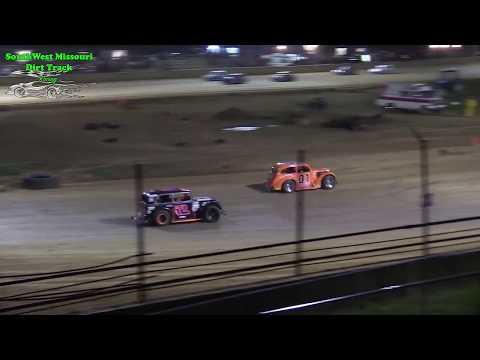 INEX Missouri Dirt Legend Car Feature Race - @ Lebanon Midway Speedway 5-11-2018