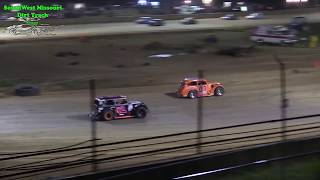INEX Missouri Dirt Legend Car Main Race - @ Lebanon Midway Speedway 5-11-2018