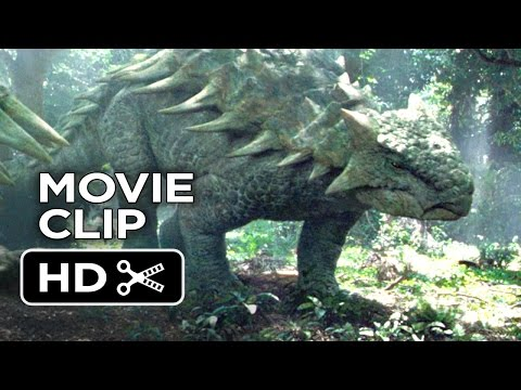 Jurassic World Movie CLIP - Dinosaurs in the Woods (2015) - Chris Pratt Movie HD