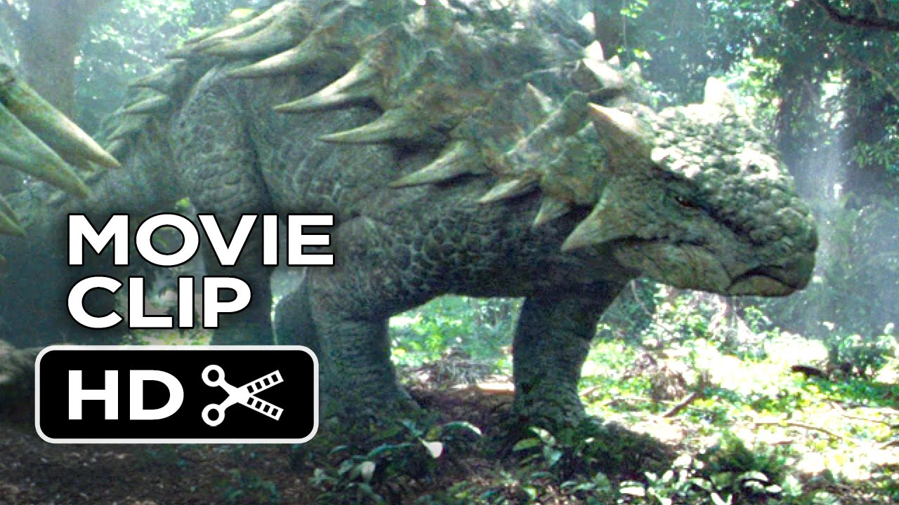 Jurassic World Movie CLIP - Dinosaurs in the Woods (2015 ... Dinosaurs T Rex