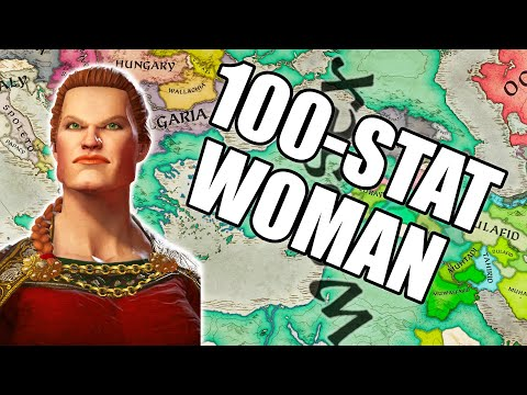 100 STAT WOMAN - Chadette conquers everything in Crusader Kings 3 |