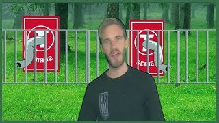 Me at the Zoo ft Pewdiepie & T-Series