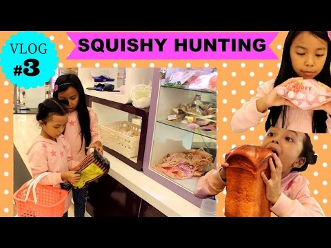 Vlog Hunting Squishy Haul di Squishy Shop Ind Bandung ♥ Vlog KeiraCharma