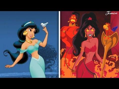 TWISTED Disney Princesses 2018!!!