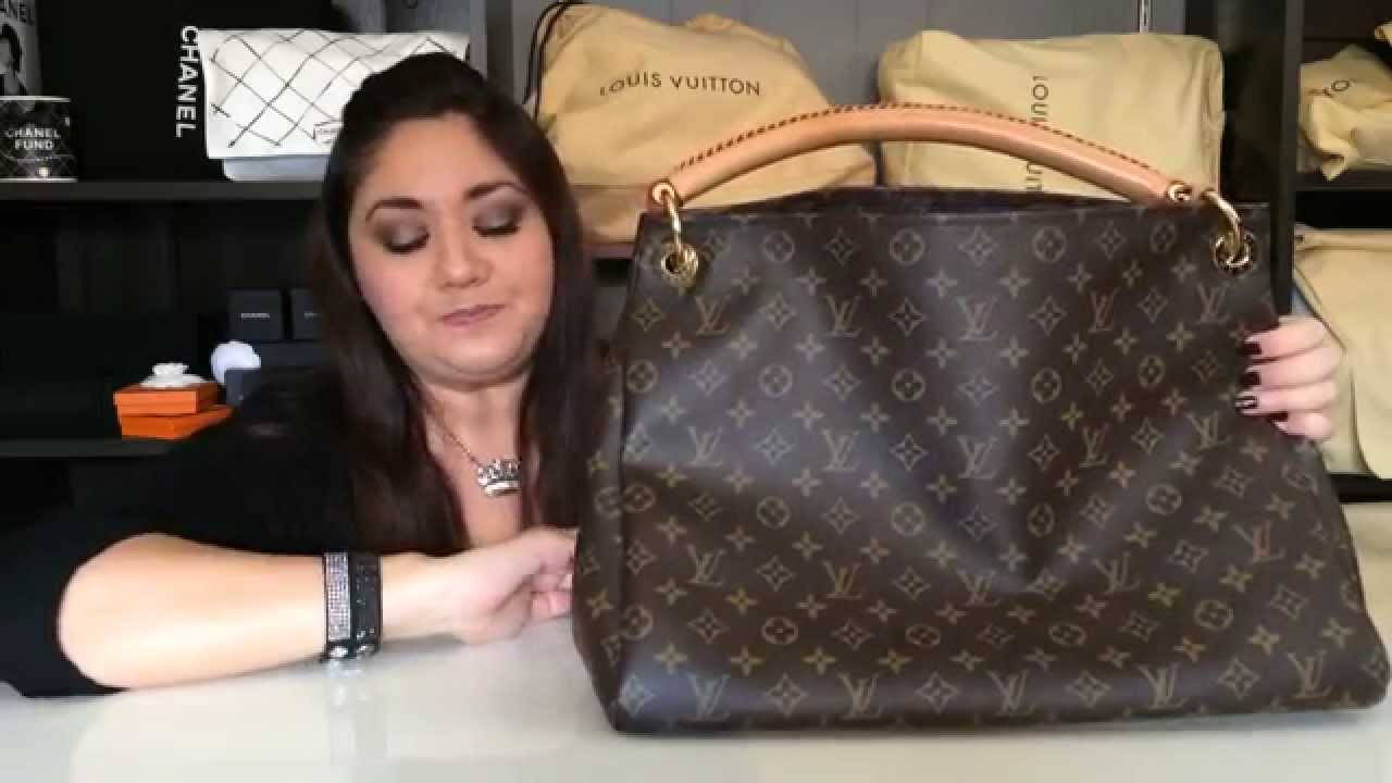 Louis Vuitton Artsy Mm Review 2015 Youtube