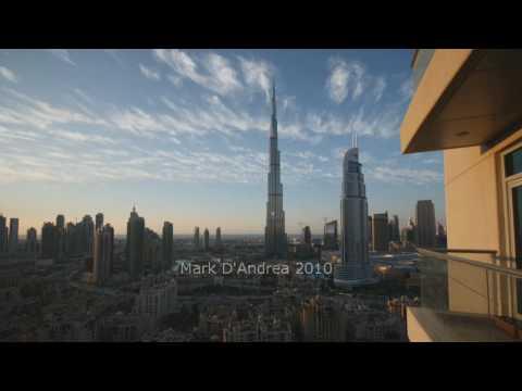 Clouds over Downtown Burj Dubai