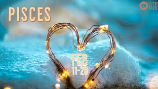 PISCES💖 FEB 11-20 Someone is avoiding the situation they have started!!!