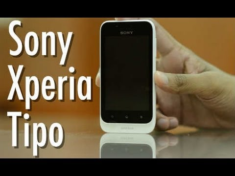 Sony Xperia Tipo : Video Review
